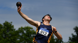 Jack Forde in action in Santry. Photo: Sportsfile