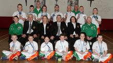 Members of the Wexford Academy of Martial Arts with medals they won at the Unified World Championships in Benidorm, Spain, recently