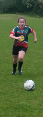 Molly Donohue, who scored the winning penalty