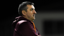 Wexford FC manager Brian O'Sullivan has watched his team lose six games on the trot
