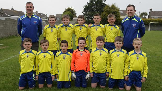 New Ross Town, who are in a play-off to decide the Under-12 Division 1 league title