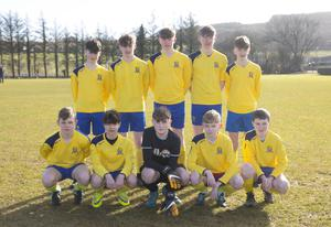 The Adamstown prior to Saturday's Under-15 league success