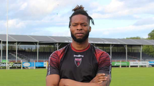 Ola Adeyemo after his arrival to Ferrycarrig Park earlier in the year