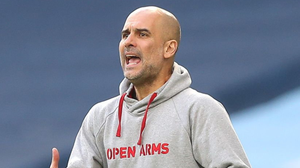 Pep Guardiola will be hoping to lead Manchester City to an unprecedented quadruple