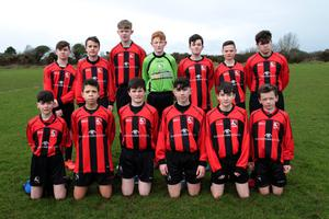 The Gorey Rangers squad before their extra-time victory away to Kilmore United on Saturday