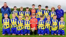 The Wexford Celtic Under-14 team bowed out of the F.A.I. Skechers Cup at the last 32 stage to St. Joseph's Boys