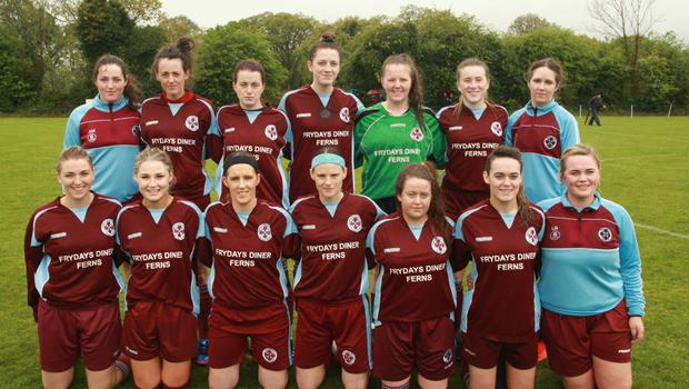 Wexford Cup runners-up, Ferns United
