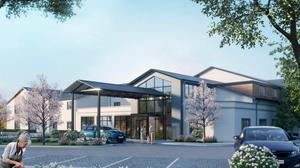 An impression of the planned 'Stanford Woods' care centre in Willow Grove.
