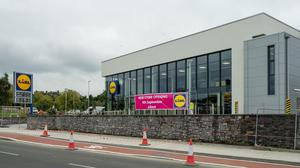 New Lidl store Boghall Road, Bray.