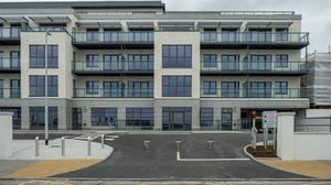 'Strand View' apartments on Strand Road.