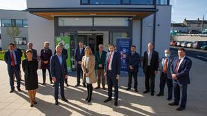 Opening of Rathdrum Primary Care Centre Ministers Stephen Donnelly & Simon Harris pictured at the official opening of the Rathdrum Primary Care Centre