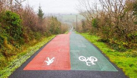 A greenway from Arklow to Shillelagh is planned.