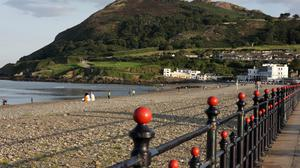 Bray Seafront which is always praised as a great, clean amenity by the Tidy Towns
