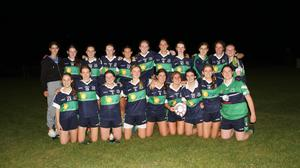 Bray Emmets, who secured the under-16 'A' Shield crown by beating Carnew Emmets in Ballinakill.