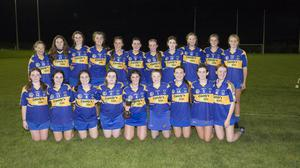 The victorious Carnew Emmets team who defeated Bray Emmets in the under-16 campogie league final in Ballinakill.