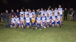 The Aughrim team who defeated Kiltegan in the Junior 'C' hurling final replay in Avondale.