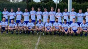 The AGB team who will take on Bray Emmets this weekend in Aughrim.