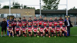 The Wicklow RFC team who played in the Colm O'Shea Cup final.