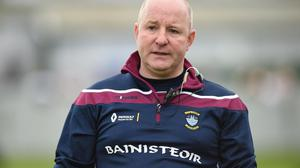 Colin Kelly, during his spell as Westmeath manager.