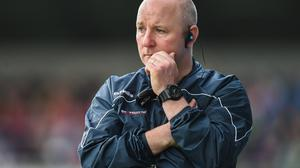 Colin Kelly during his time as Louth manager.