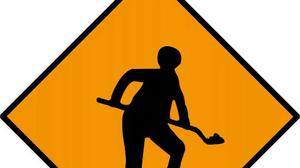 Road works are taking place in Blessington.