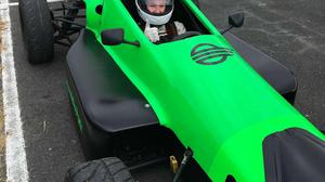 Kelsey Kirby who has entered for the Formula Woman competition being held in the UK next year.