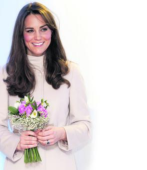 Catherine, Duchess of Cambridge is related to singer Chris de Burgh.