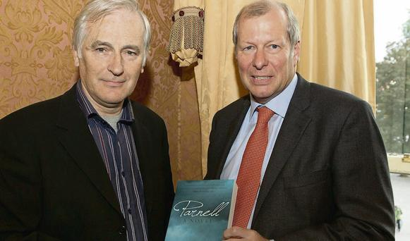 RTE's Myles Dungan launched Parnell A Novel by Brian Cregan SC. Photo: Peter Houlihan/Paul Sherwood photography.