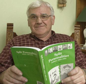 Historian Jim has seen his book Surplus People from Wicklow to Canada reprinted.
