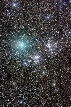 There are up to 400 billion other stars and at least 100 billion planets in The Milky Way, our local galaxy.