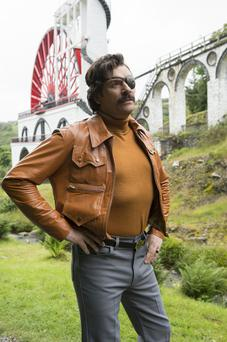 Julian Barratt in the titular role in Mindhorn