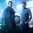 Ryan Gosling as K and Harrison Ford as Rick Deckard in Blade Runner 2049