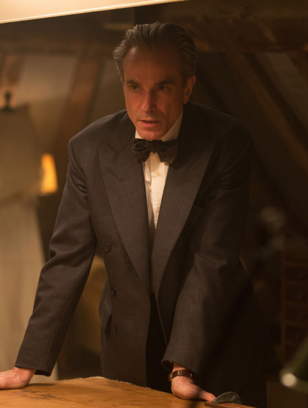 Daniel Day-Lewis as Reynolds Woodcock in Phantom Thread