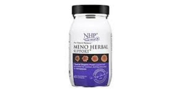 NHP Meno Herbal Support contains a mix of ingredients to support oestrogen levels.
