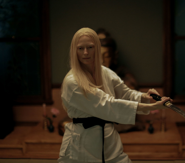 Tilda Swinton as Zelda Winston in The Dead Don't Die
