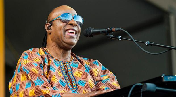 Stevie Wonder: just one No. 1 hit in the UK.