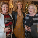 Frances Sweeney, Niamh Sweeney and Elizabeth Doyle at the Little Christmas Ladies Lunch in the Woodenbridge Hotel