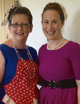 A vintage tea party proved a roaring success and raised over €1,000 for Brain Tumour Ireland.