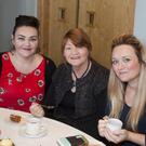 """Selina and Sarah Roche, Tammy Byrne at the """"Baby Mae"""" coffee morning in the Arklow Bay hotel"""