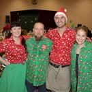 Organisers Grainne Donnelly, Mark Murphy, Gareth Donnelly, Emma Murphy at the Kilcoole Christmas Craft Fair at St Patrick's Hall