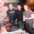 The Tube Reunion at the Back Bar: original Tube DJs Dave Parnell, Damien Farrelly of 4fm and Mick Glynn