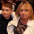Brenda and Cole Byrne enjoying the action at the annual tournament hosted by Arklow Boxing Club in the Arklow Bay Hotel