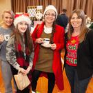 Gerry and Sophie Hynes, Ayla Murphy, Amanda Hatton and Sharon Berkhahn at the Christmas fair in Glenealy Village Hall.