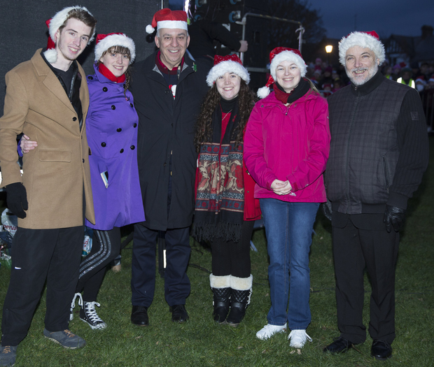 Pictured at the Greystones Christmas lights switch on was Whale Theatre  owner Ross McParland with Classic c24c3d0a6
