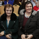 Marie, Jennifer and Seamus Ferguson at the Showband Night at the Parkview, Newtownmountkennedy