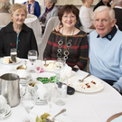 Sean Whelan, John Moules, Mary Moules, Joan Dowling and Liam Dowling at the Avoca Senior Citizens Christmas party the Woodenbridge Hote