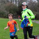 Some of the runners taking part in the Avondale Park Run recently.