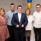 Mary McGuire, Brian McNulty, Matthew McNulty, Ann McNulty, Sean Crinion and Natasha Cuddihy at the Wicklow Garda Youth Awards in the Parkview Hotel, Newtown.