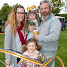 Lisa, Finn, Isabel and Joey Connor having a good time at the Greystones Tidy Towns Fun Day at Burnaby Park, Greystones