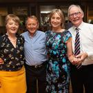 Eilish and Leslie Bradshaw with Helen and George Doolin at the Dancing for Dementia event in the Parkview Hotel